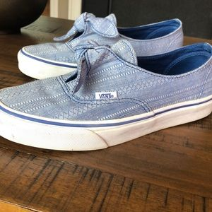 Vans Lace Chambray Knotted - Women's Size 8